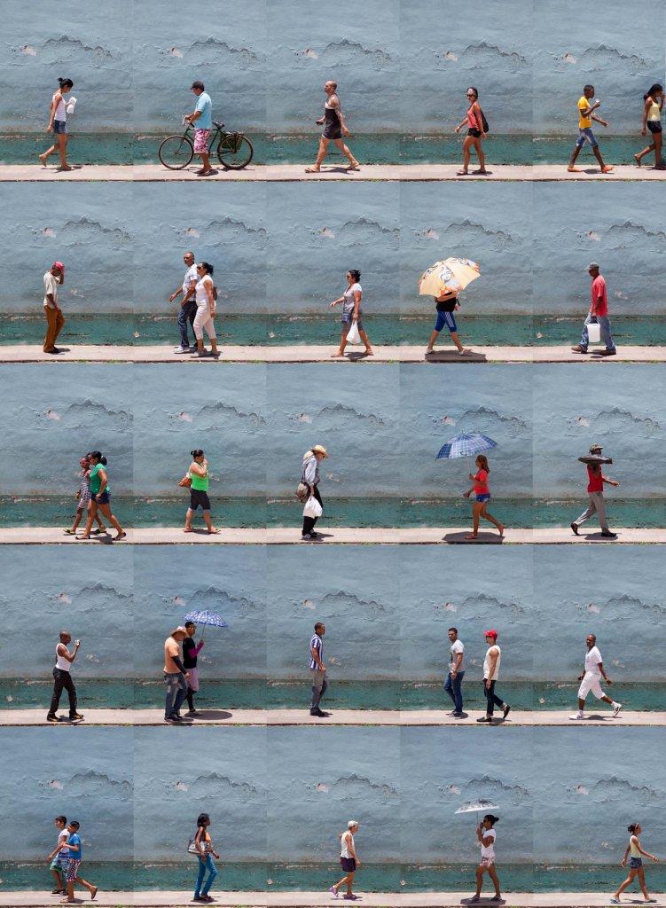 Time Lapse. Calle Cristo, Trinidad, Cuba